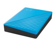 WD My Passport 4TB USB 3.0 Niebieski - 530408 - zdjęcie 4