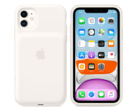Apple Smart Battery Case do iPhone 11 White - 530229 - zdjęcie 4