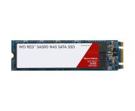 WD 2TB M.2 SATA SSD Red SA500 - 525243 - zdjęcie 1