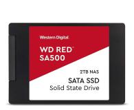"WD 2TB 2,5"" SATA SSD Red SA500 - 525238 - zdjęcie 1"