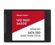 "WD 500GB 2,5"" SATA SSD Red SA500 - 525235 - zdjęcie 1"