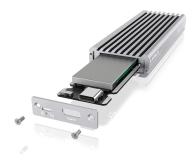 ICY BOX Obudowa do dysku M.2 NVMe (USB-C, M-Key) - 525274 - zdjęcie 4