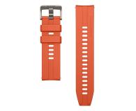 Huawei Pasek Silikonowy do Huawei Watch GT pomarańczowy - 533752 - zdjęcie 1