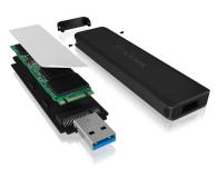 ICY BOX Obudowa do dysku M.2 (USB 3.1) - 535274 - zdjęcie 4