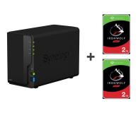 Synology DS218 4TB (2xHDD, 4x1.4GHz, 2GB, 3xUSB, 1xLAN) - 530589 - zdjęcie 1