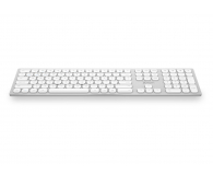 x-kom Aluminium Wireless Keyboard (Srebrna)