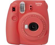 Fujifilm Instax Mini 9 czerwony wkład 2x10+Etui+Ramka  - 529250 - zdjęcie 2