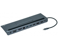 i-tec Stacja dokująca (USB-C, 3x HDMI, 85W, VGA, DP) - 503660 - zdjęcie 2