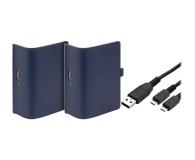 Venom XBO Twin Pack + 2 metrowy kabel - blue - 530794 - zdjęcie 1