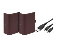 Venom XBO Twin Battery Pack + 2 metrowy kabel - red - 530795 - zdjęcie 1