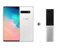 Samsung Galaxy S10+ G975F Ceramic White 1TB + ZESTAW - 493916 - zdjęcie 1