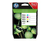 HP Zestaw 4 tuszów 953XL CMYK - 479415 - zdjęcie 1