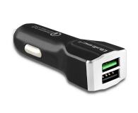 Qoltec Ładowarka Samochodowa 2x USB, QC, 3A - 478220 - zdjęcie 1