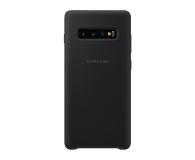 Samsung Silicone Cover do Galaxy S10+ czarny - 478388 - zdjęcie 1
