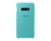 Samsung Silicone Cover do Galaxy S10e zielony - 478326 - zdjęcie 1