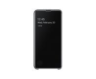 Samsung Clear View Cover do Galaxy S10e czarny - 478315 - zdjęcie 2