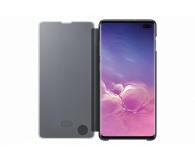 Samsung Clear View Cover do Galaxy S10+ czarny - 478383 - zdjęcie 3