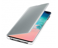 Samsung Clear View Cover do Galaxy S10+ biały - 478384 - zdjęcie 1