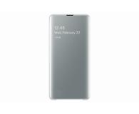 Samsung Clear View Cover do Galaxy S10+ biały - 478384 - zdjęcie 2