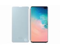 Samsung Clear View Cover do Galaxy S10+ biały - 478384 - zdjęcie 3