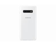 Samsung Clear View Cover do Galaxy S10+ biały - 478384 - zdjęcie 4