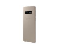 Samsung Leather Cover do Galaxy S10 szary - 478368 - zdjęcie 4
