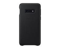 Samsung  Leather Cover do Galaxy S10e czarny - 478330 - zdjęcie 1