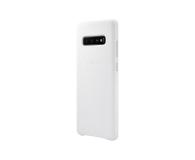 Samsung Leather Cover do Galaxy S10+ biały - 478402 - zdjęcie 4