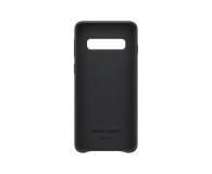 Samsung Leather Cover do Galaxy S10 czarny - 478361 - zdjęcie 3