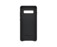 Samsung Leather Cover do Galaxy S10+ czarny - 478401 - zdjęcie 3