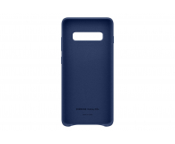 Samsung Leather Cover do Galaxy S10+ granatowy - 478407 - zdjęcie 3