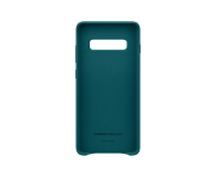 Samsung Leather Cover do Galaxy S10+ zielony - 478405 - zdjęcie 3