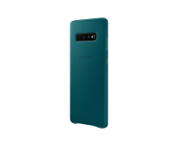 Samsung Leather Cover do Galaxy S10+ zielony - 478405 - zdjęcie 4