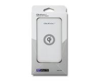 Qoltec Indukcyjna Quick charge 10W (biały) - 480648 - zdjęcie 2