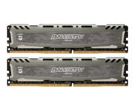 Pamięć RAM DDR4 Crucial 32GB (2x16GB) 3200MHz CL16 Ballistix Sport LT Gray