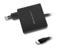 Qoltec Zasilacz sieciowy 90W (20.3V 4.5A, USB-C) - 480647 - zdjęcie 1