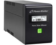 Power Walker VI 800 SW (800VA/480W, 2xSchuko, USB LCD, AVR) - 471427 - zdjęcie 3