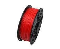 Gembird ABS Fluorescent Red 1kg - 485167 - zdjęcie 1