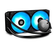 Deepcool Maelstrom 240 RGB 2x120mm - 484088 - zdjęcie 1