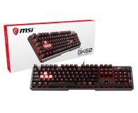 MSI Vigor GK60 (MX Cherry Red, czerwone LED) - 478206 - zdjęcie 4