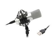 TIE Condenser Mic USB (srebrny) - 486949 - zdjęcie 2