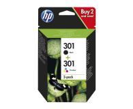 HP 301 + 301 (BK+CMY) - 377300 - zdjęcie 1