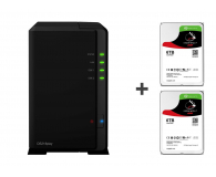 Synology DS218play 12TB(2xHDD, 4x1.4GHz, 1GB, 2xUSB, 1xLAN) - 483568 - zdjęcie 1