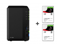 Synology DS218+ 12TB (2xHDD, 2x2-2.5GHz, 2GB, 3xUSB, 1xLAN) - 483570 - zdjęcie 1