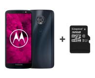 Motorola Moto G6 3/32GB Dual SIM granatowy + etui + 32GB - 483085 - zdjęcie 1