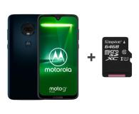 Motorola Moto G7 Plus 4/64GB DS granatowy + etui + 64GB - 483117 - zdjęcie 1