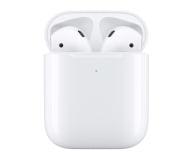 Apple NEW AirPods 2019 z bezprzewodowym etui ładującym - 490939 - zdjęcie 1