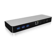 ICY BOX Stacja dokująca 3xUSB 3.0, HDMI, RJ-45, Czytnik SD - 485728 - zdjęcie 1