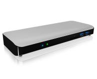 ICY BOX Stacja dokująca 3xUSB 3.0, HDMI, RJ-45, Czytnik SD - 485728 - zdjęcie 2