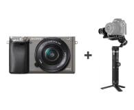 Sony ILCE A6000 z 16-50 + Gimbal G6 Plus - 487753 - zdjęcie 1
